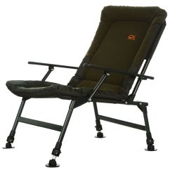 Fishing Chair With Arms Ikneadu Massage Carp Kinetics Kin X Outdoor Adjustable Legs