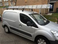 2008 - 2016 Peugeot Partner / Tepee Roof Rack Bars Rails 3 ...