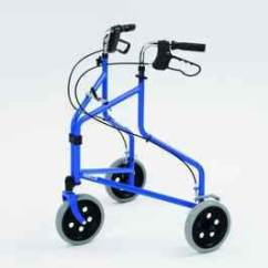 Dental Chair Light Stand Tranquil Ease Lift Manual Walking Frame Aid Three (3) Wheel Rollator / Walker Blue Medical Invacare | Ebay