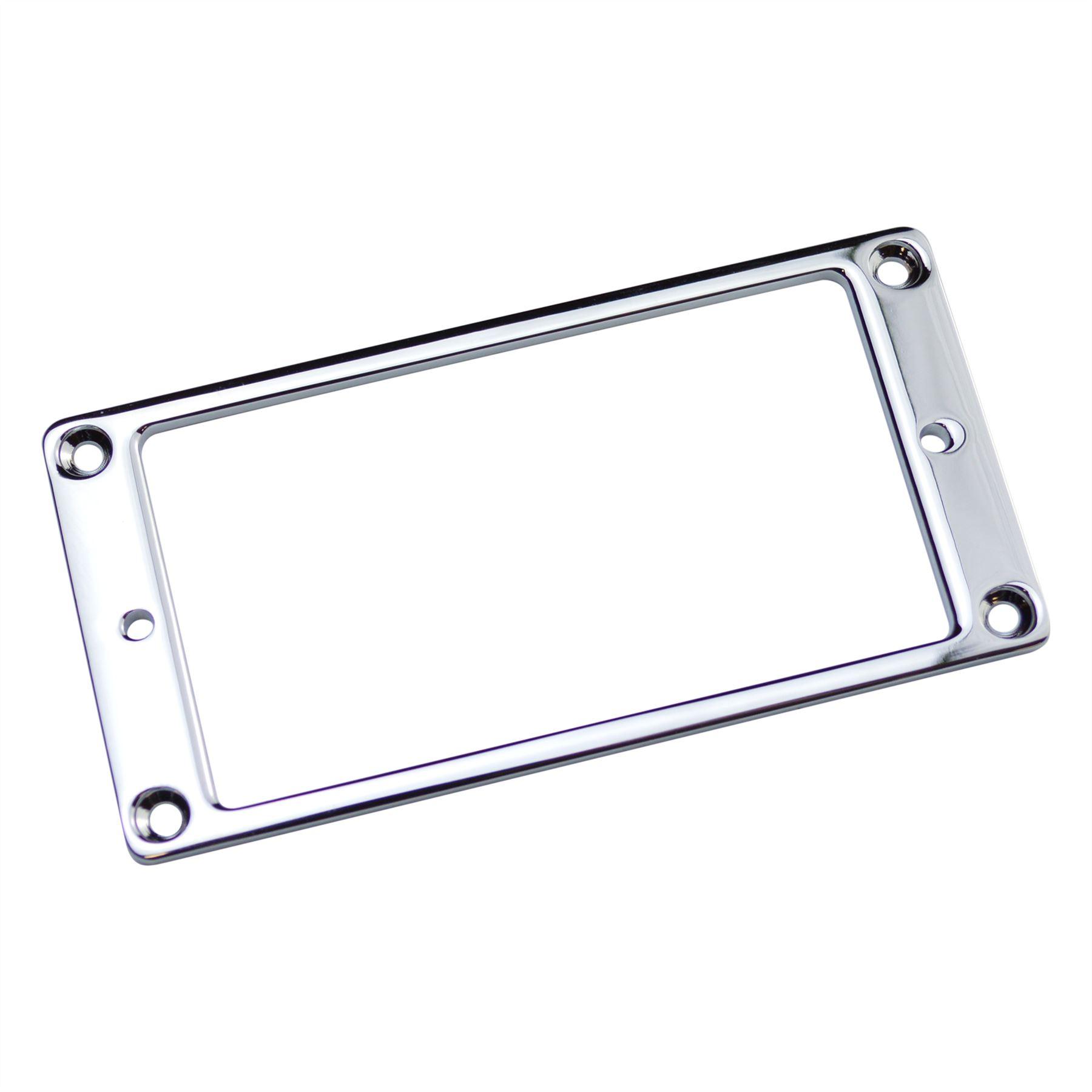 Flat Metal Humbucker Pickup Surround Plate