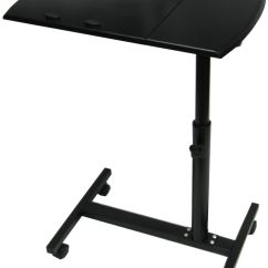 Portable Study Chair Wedding Covers Hire Yeovil Folding Laptop Desk Table Stand On Castors Wheels