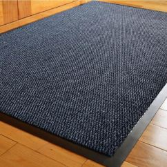 Non Slip Kitchen Rugs Small Buffet Heavy Duty Home Office Hall Barrier Mat