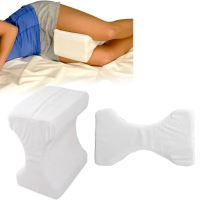 CONTOUR MEMORY FOAM LEG PILLOW ORTHPAEDIC BACK HIPS AND ...