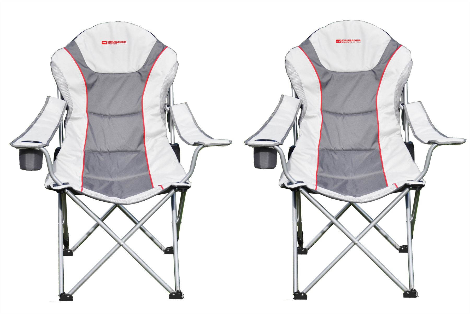 portable directors chair 2 old barber chairs 2x heavy duty royal padded folding camping