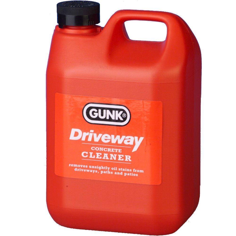 Gunk Driveway Cleaner Oil Stain Remover Garage Floor Paths