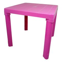 Plastic Kids Table And Chairs Modern Bean Bag Chair Childrens Set Coloured Nursery