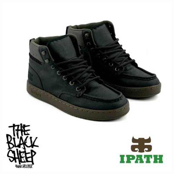 Ipath Footwear Aboot Waxed Dark Hemp Uk 8 Mens Skate