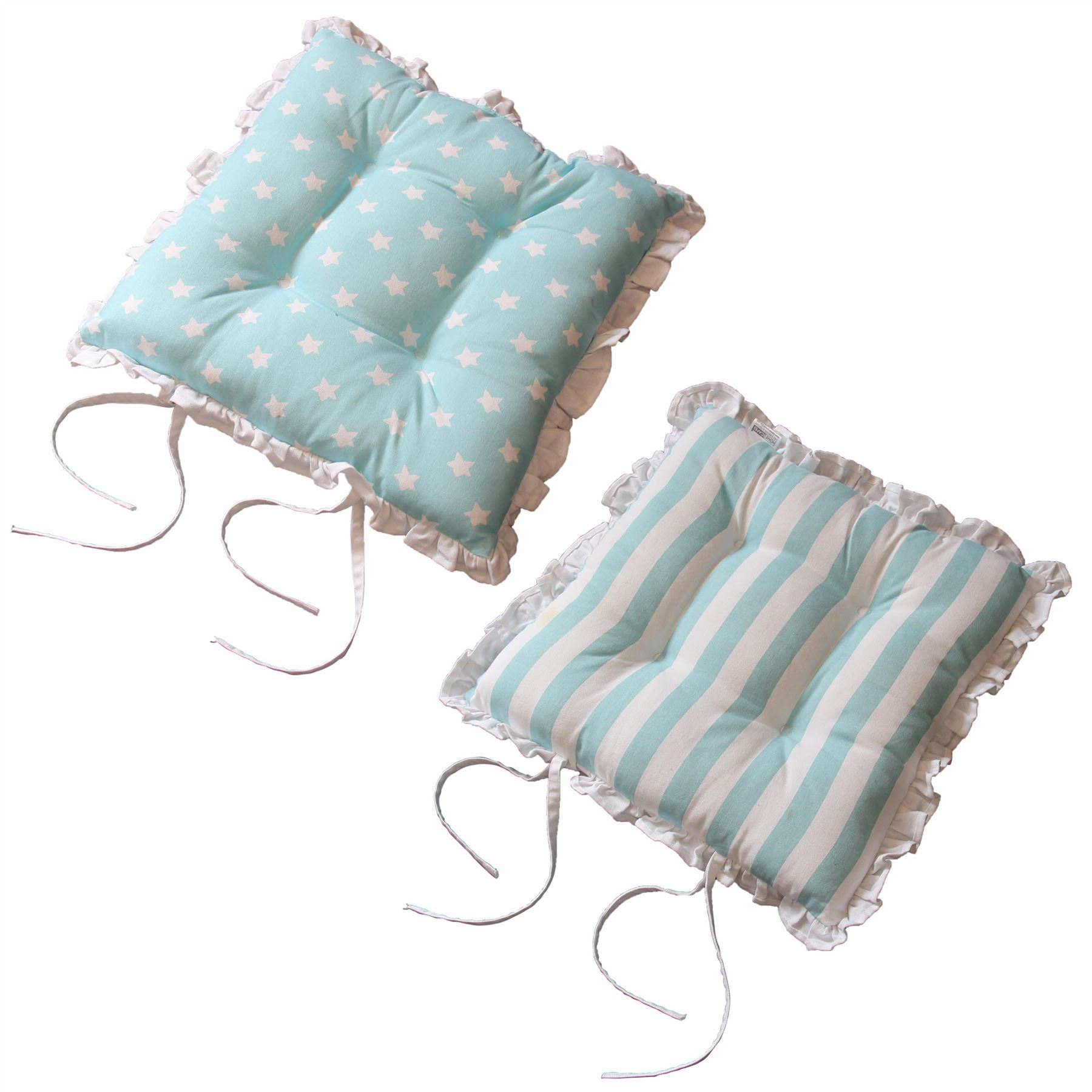 dining chair cushions with ties electric wheel chairs seat pads for cotton square reversible