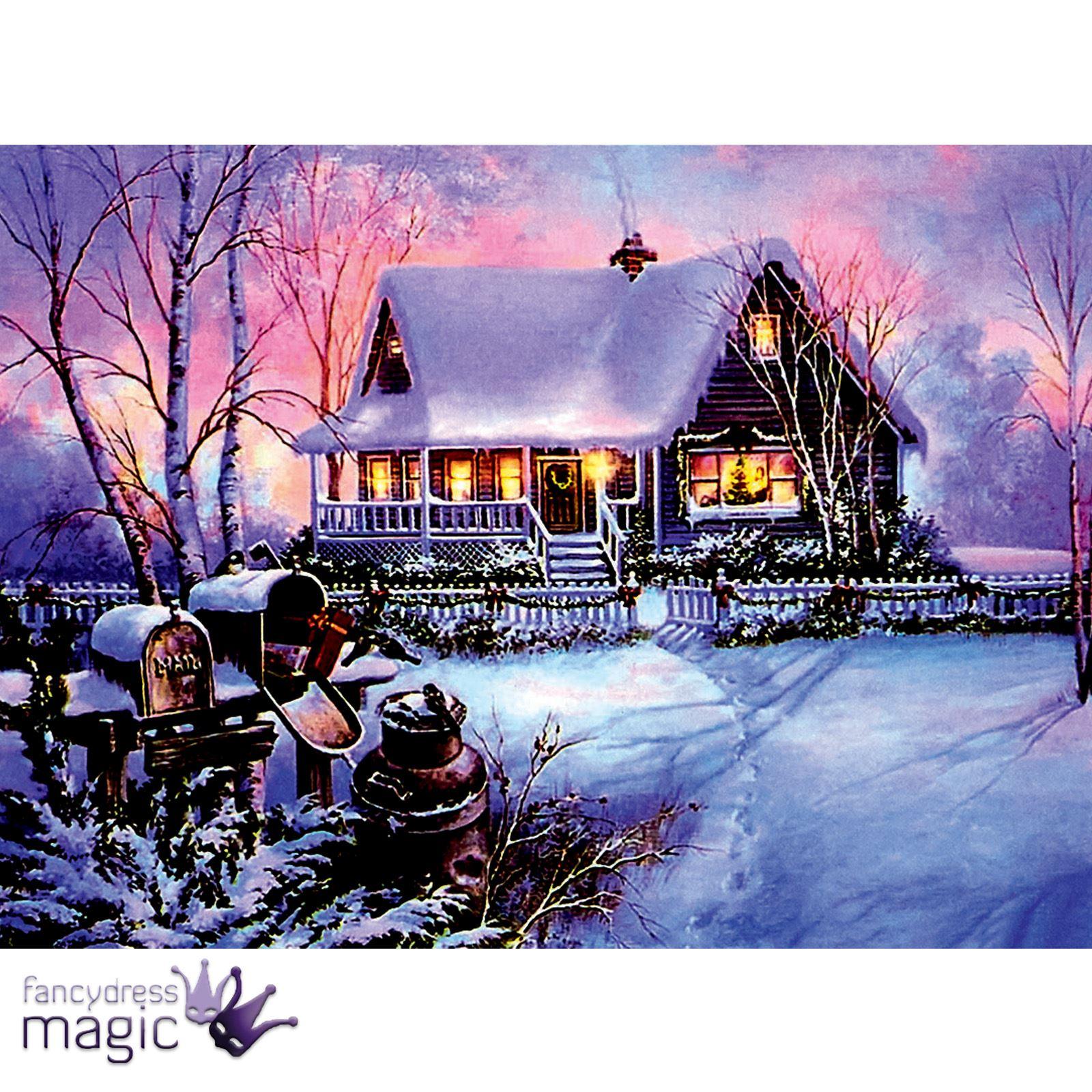 Led Christmas Canvas Prints