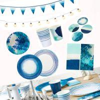 Talking Tables Coast Coastal Beach Seaside Party Ombre ...