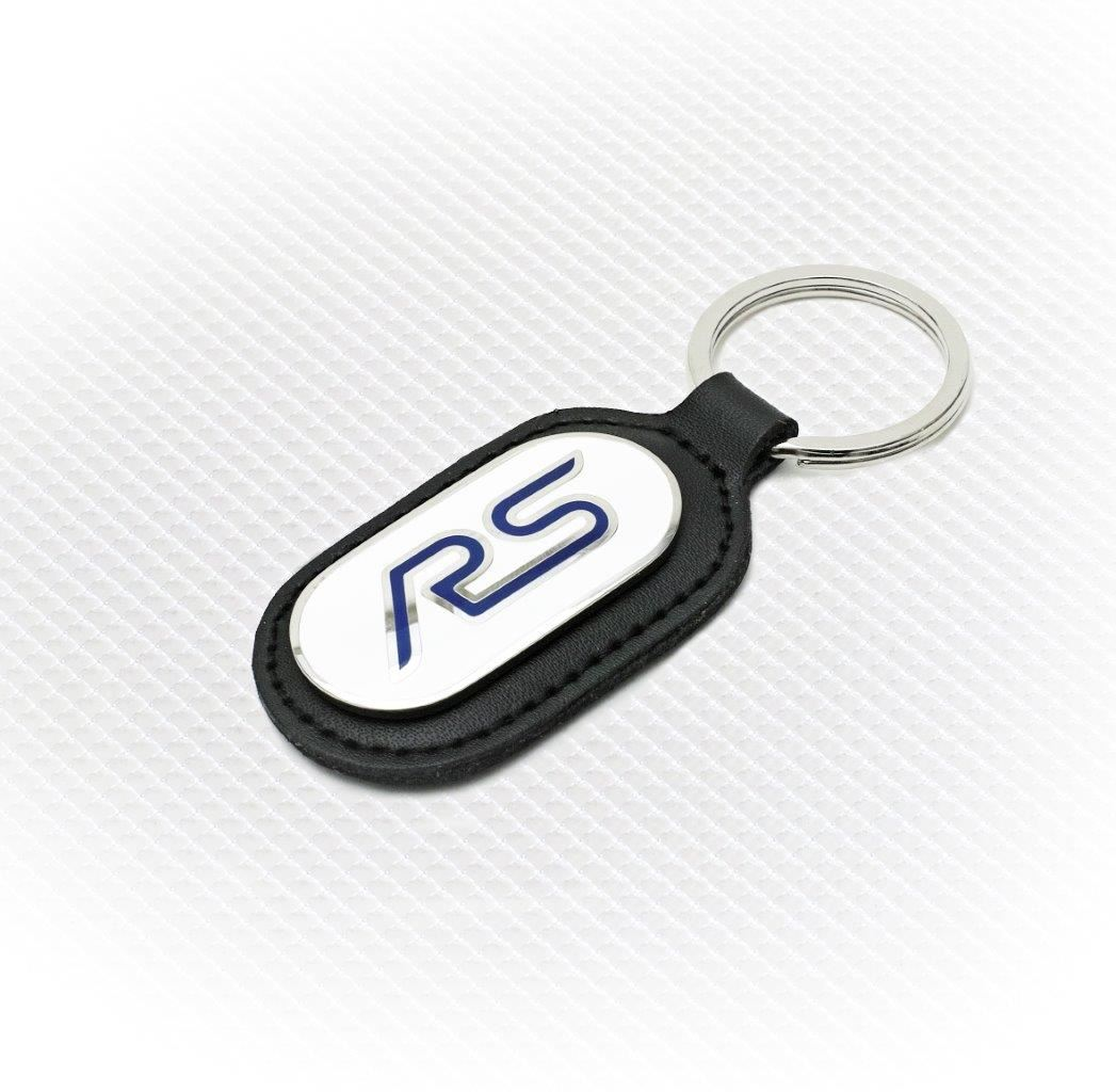 Richbrook Ford Collection Keyring White Blue Rs Logo
