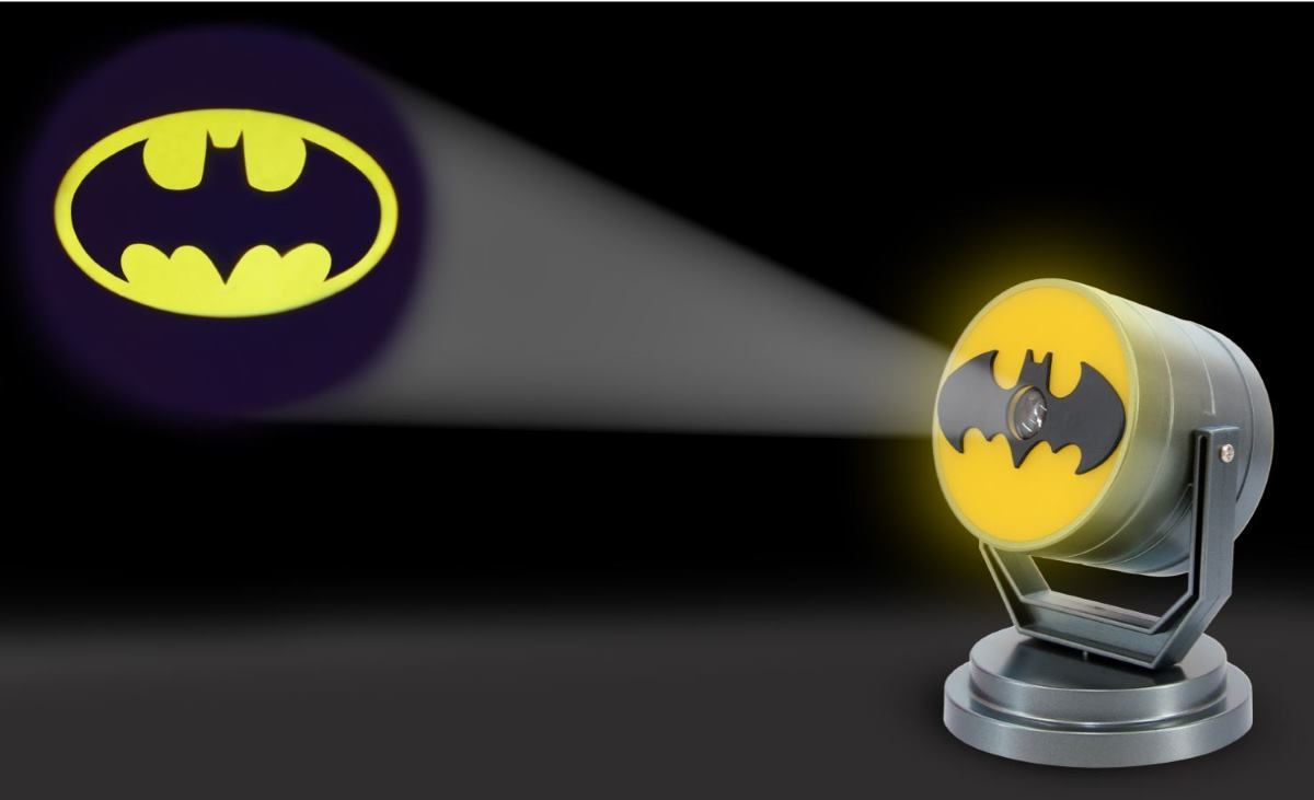 Batman Bat Signal Projector Plug In Yellow Night Light