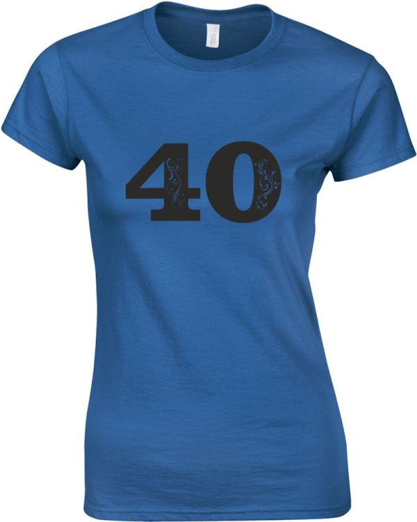40th Birthday Shirts Women