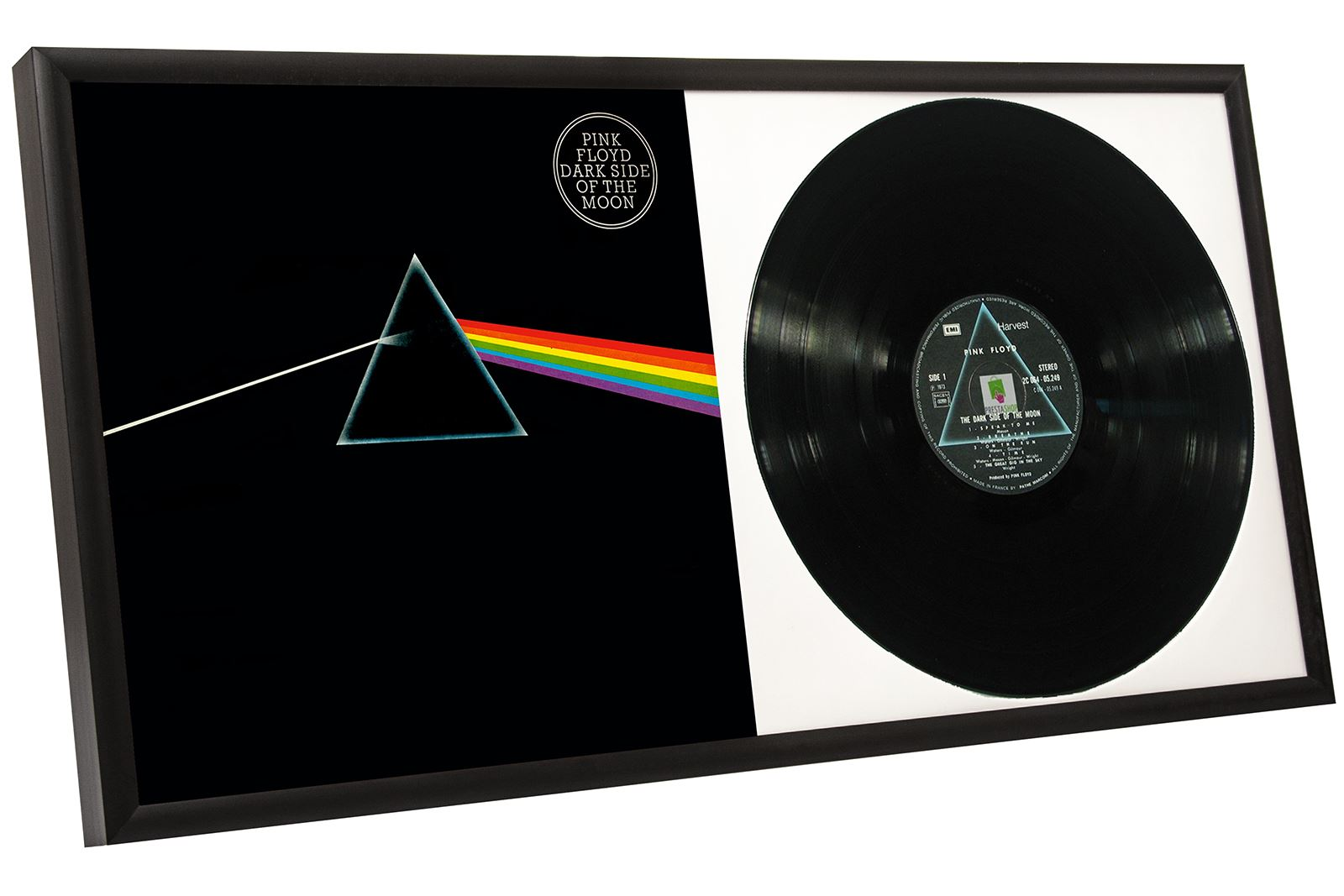 Vinyl Record Album Frame Plastic Aluminium Single Amp Double