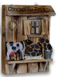 Vintage Wooden Key Holder Cabinet Box Home Decor Gift Wall ...