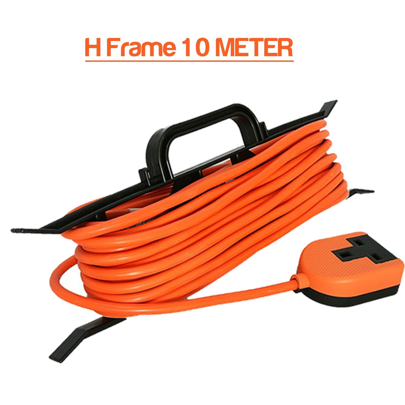 6 way extension lead 3m motor wiring diagram reel socket cable 2 4 5 10 15 18 20 25m