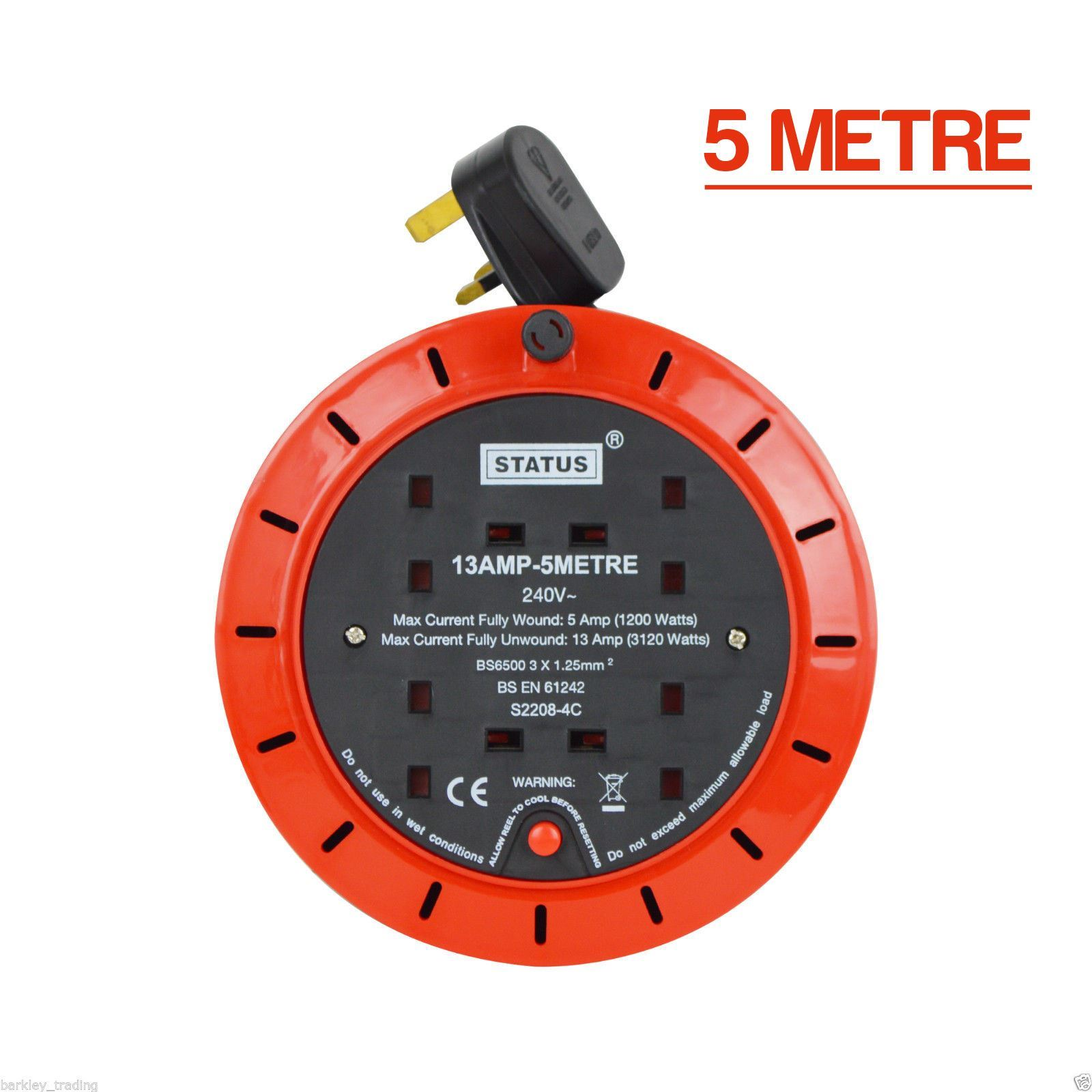 6 way extension lead 3m viper 5704 wiring diagram power mains leads 2m 5m 10m 15m 20m 25m 2 4 8 gang