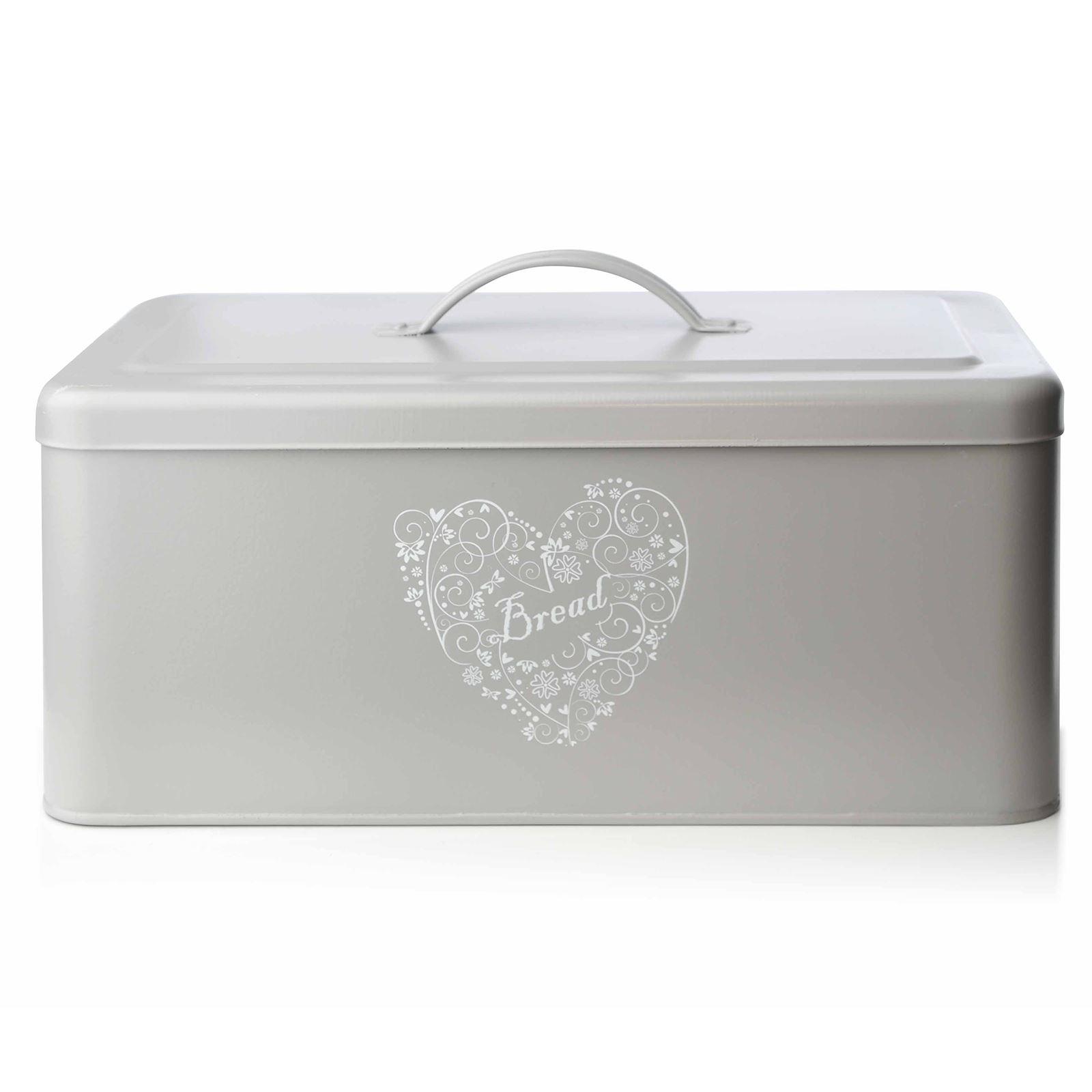 kitchen storage boxes cheap used appliances bread holder bin box vintage design home