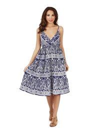 floral skater dress size 22