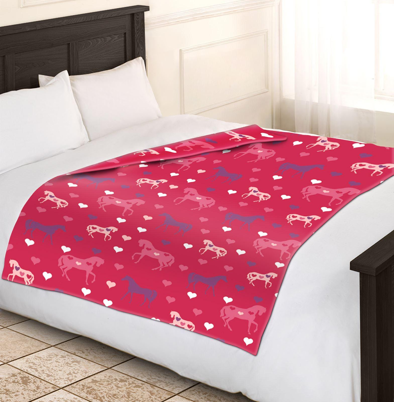 pink sofa dating uk moroso field girls soft and warm single horse fleece blankets