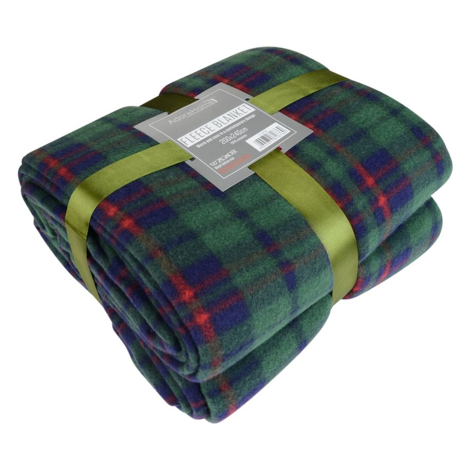 Soft & Warm Single Printed Fleece Blankets For Sofa Bed ...