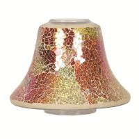 Village Candle Glass Candle Jar Lamp Shade 16cm Choose ...