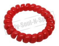 Hair Band bracelet vintage Phone line wire Ponytail Holder ...