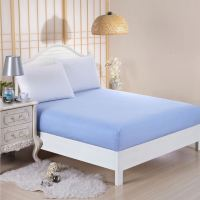 Dyed Matching Colour Plain Fitted Bed Sheets Size Single ...
