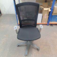 Knoll Office Chair Parts How To Recover A Seat Life Ergonomic Missing Arm Rests Ebay