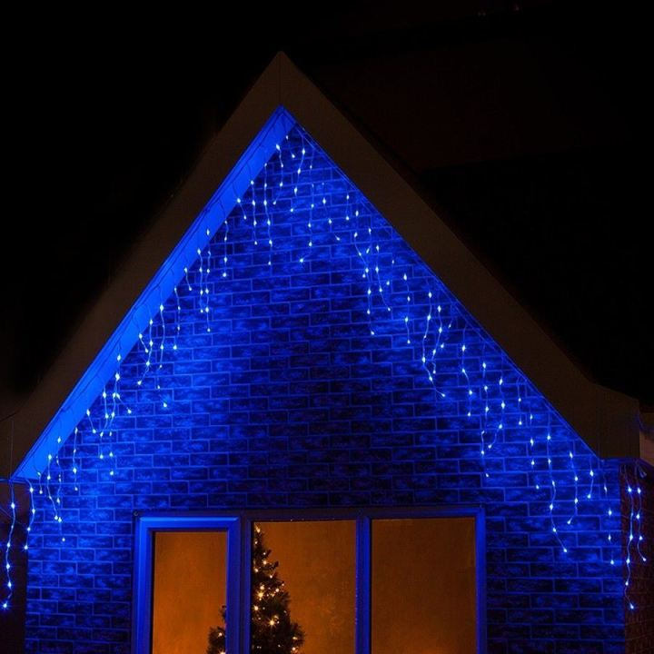 Blue Outdoor Christmas Lights