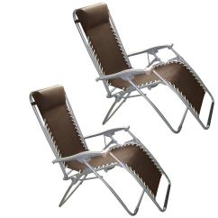 Zero G Garden Chair Joovy Nook High 2 X Black Gravity Textoline Sun Lounger