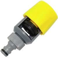 Universal Kitchen Tap Hose Pipe Adaptor Connector Rubber ...