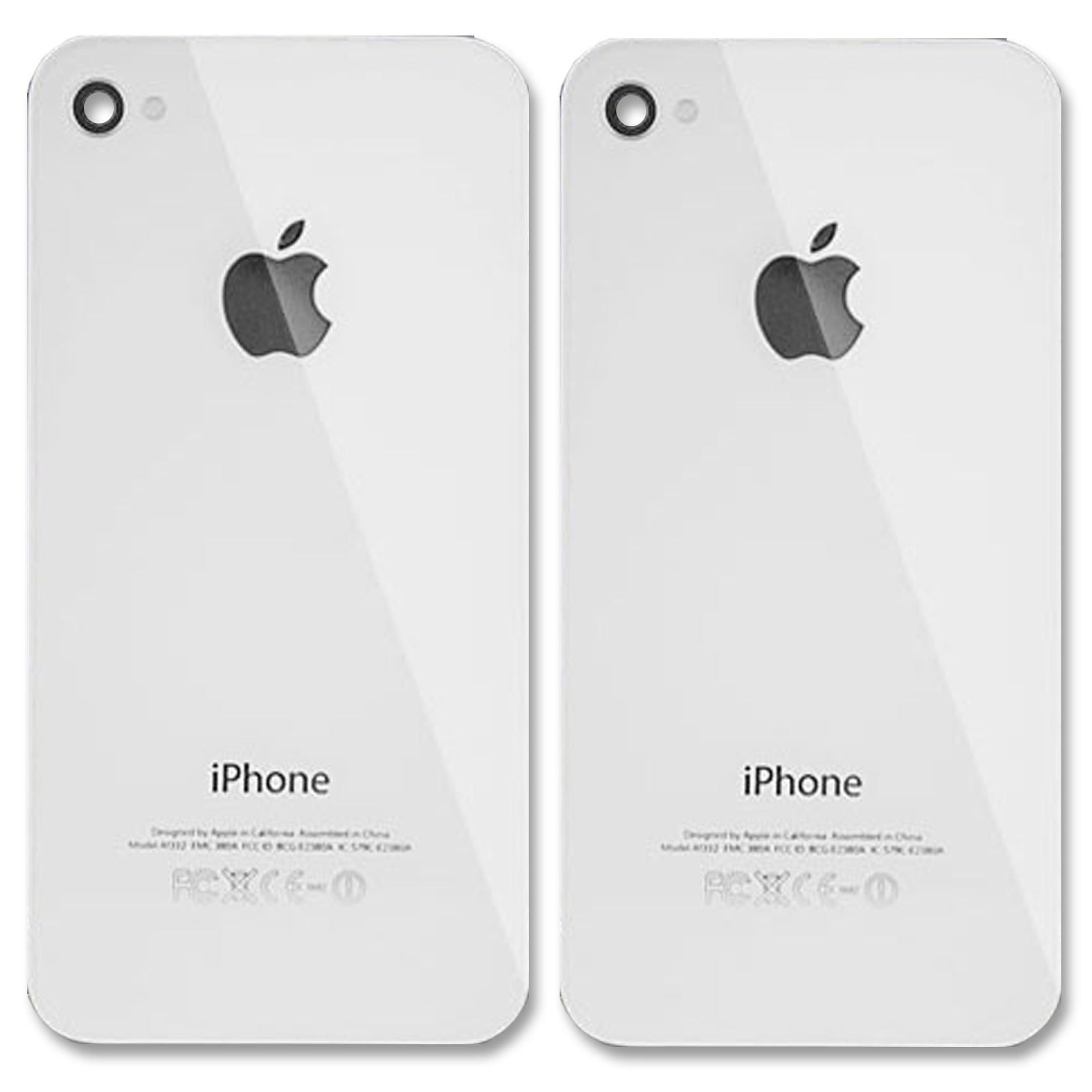 back of iphone 4s diagram telephone wiring master socket 2x replacement rear glass battery cover panel for