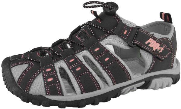 Ladies Womens Summer Closed Toe Hiking Walking Sandals
