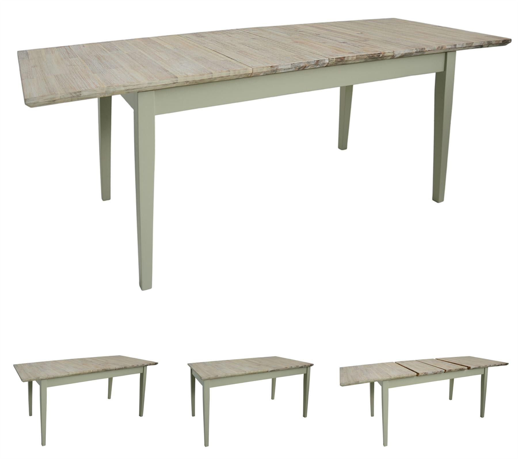 Rectangle Kitchen Table And Chairs Florence Stunning Rectangle Extended Kitchen Dining Table