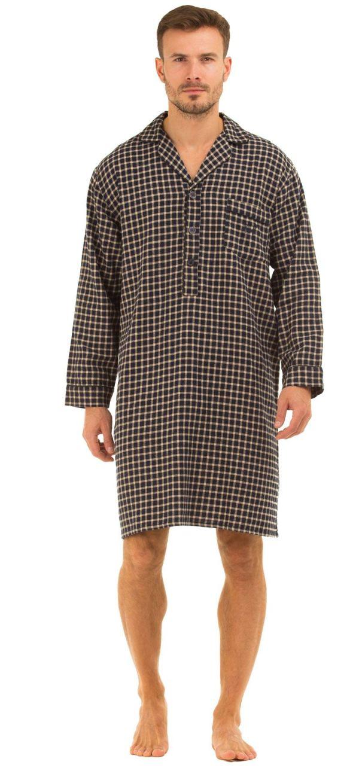 100% Cotton Nightshirts for Men