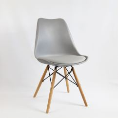 Eiffel Chair Wood Legs Dining Chairs With Rollers Mmilo Tulip Inspired Solid