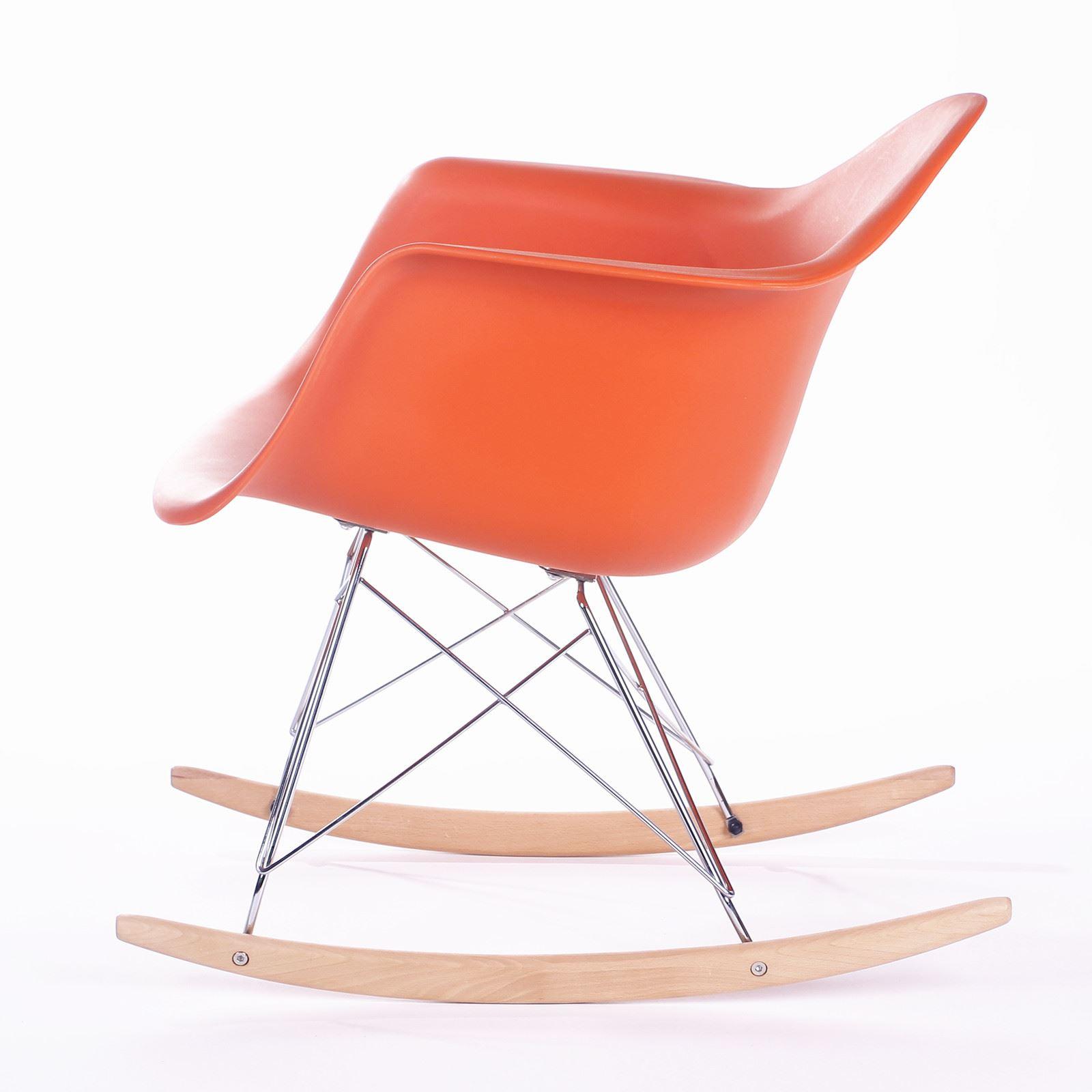 retro rocking chair how to upholster a eames rar rocker armchair modern