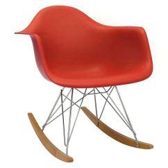 Retro Rocking Chair Lazy Boy Chairs Sale Eames Rar Rocker Armchair Modern