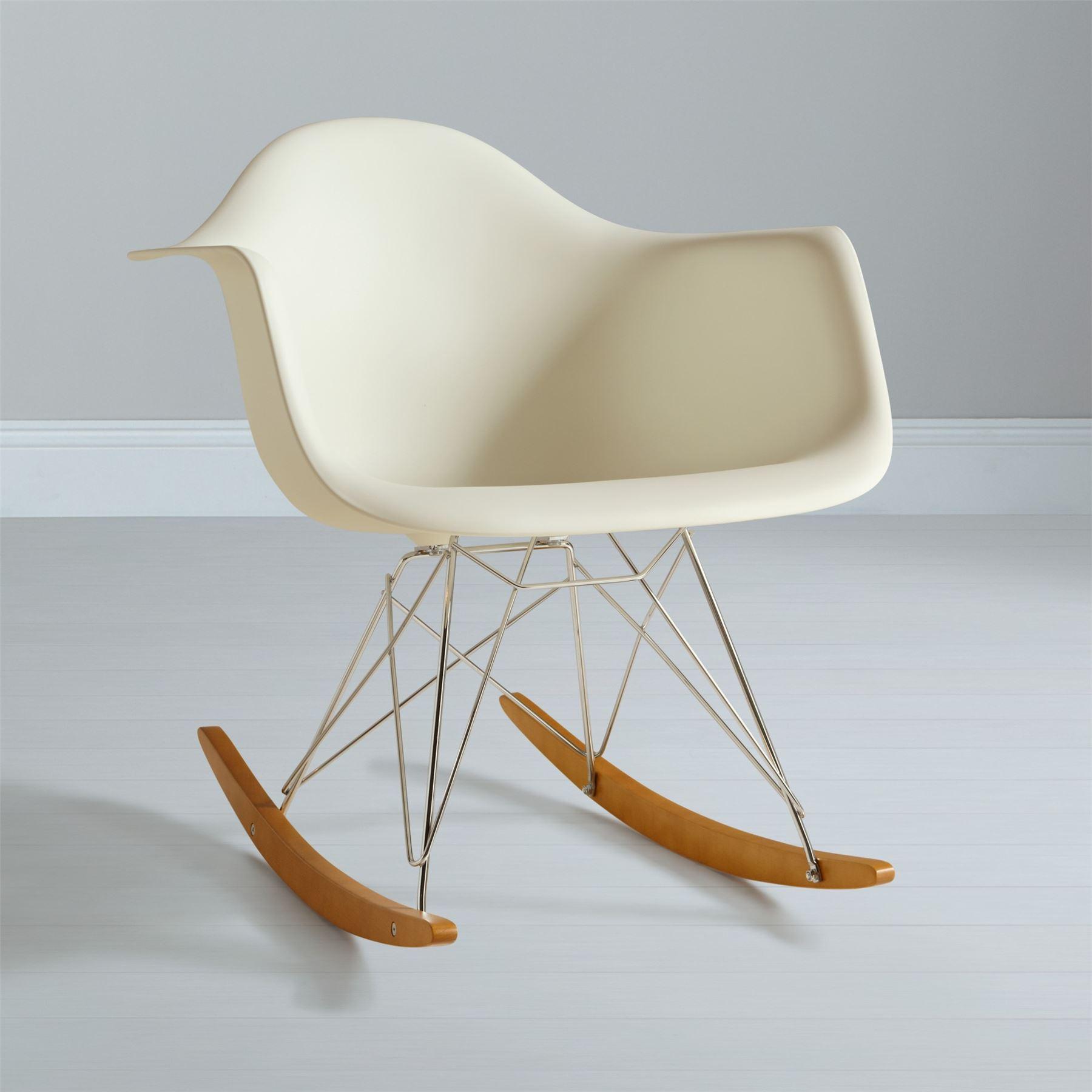 eames rocking chair red nwpa abv rar rocker armchair retro modern