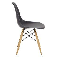 Eiffel Chair Wood Legs Used Desk Chairs Mmilo Dinnig Inspired Contemporary Plastic