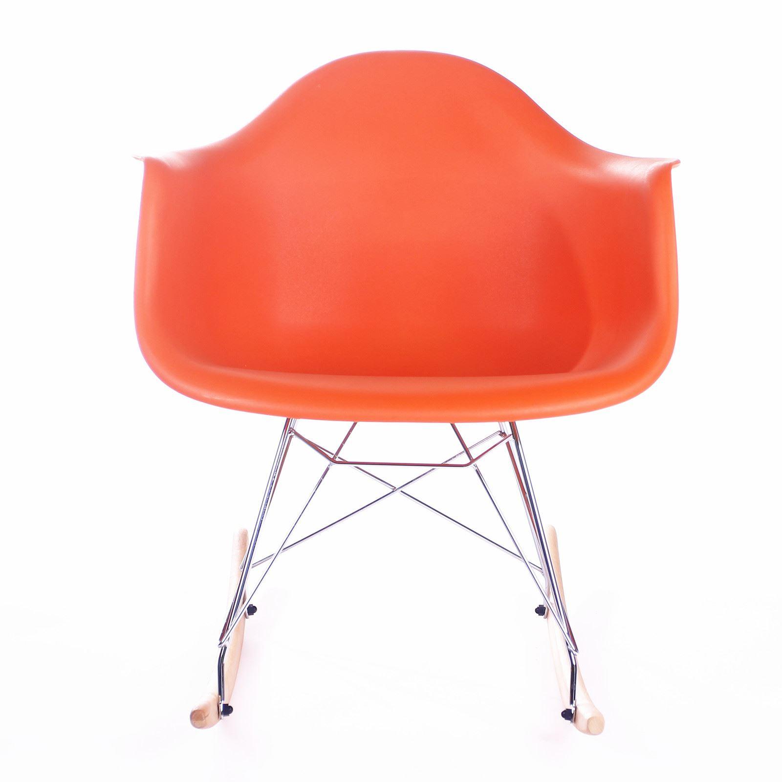 baby room rocking chair wood lawn eames rar rocker armchair retro lounge