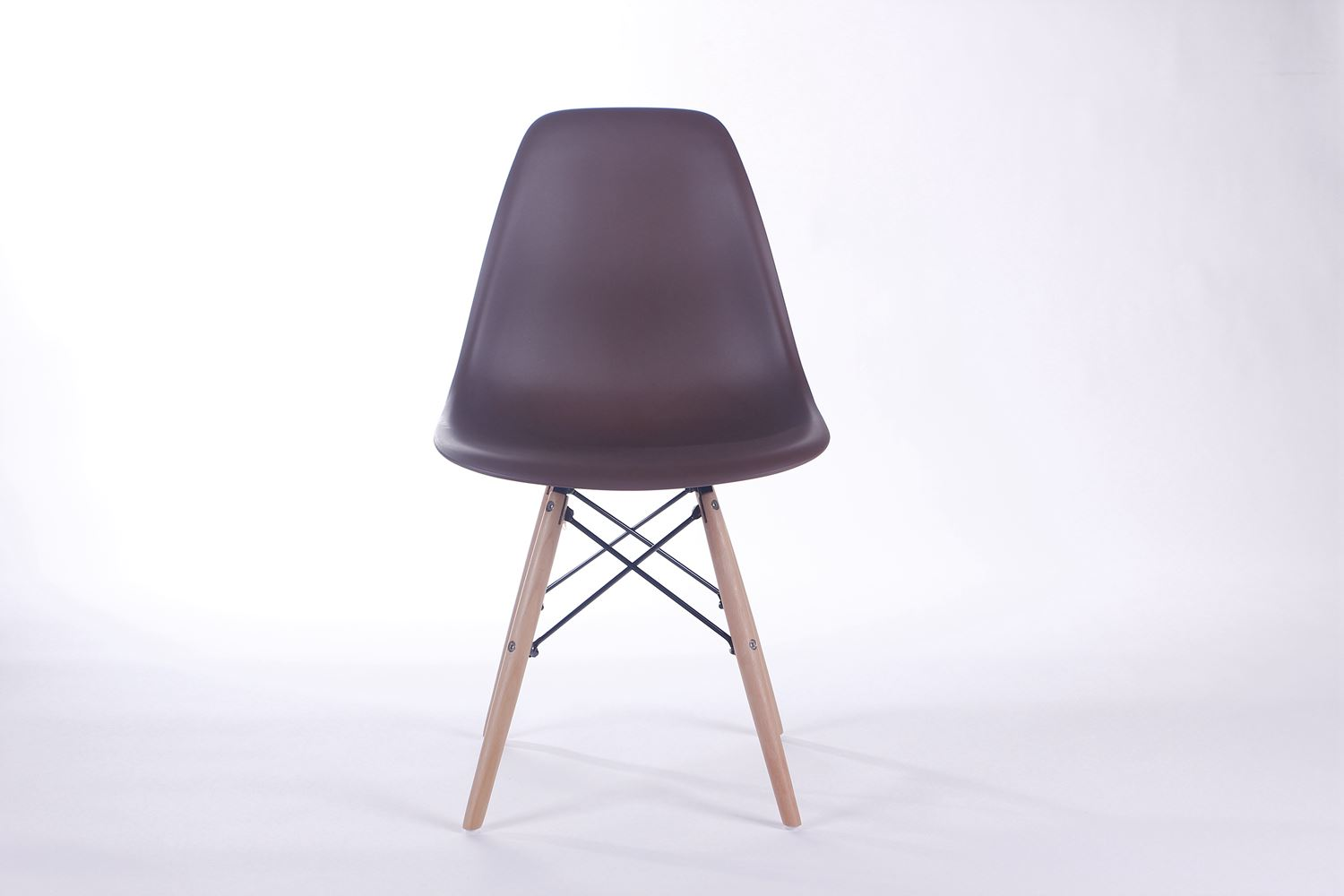 eiffel chair wood legs used oak table and chairs charles ray eames inspired dsw side dining room