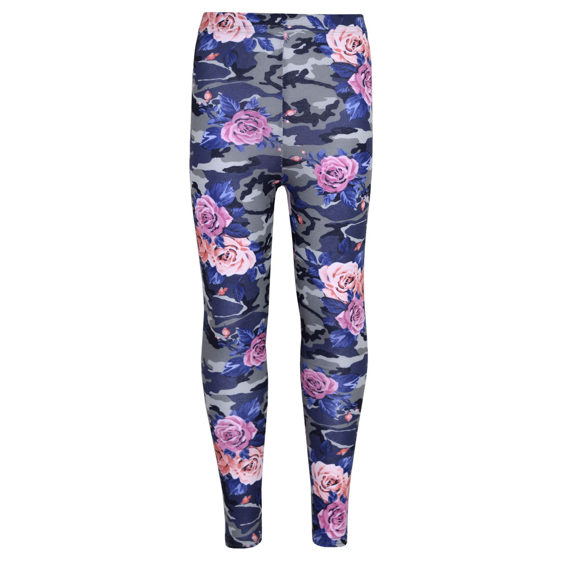 Leggings Outfit Party Girls Legging Kids Camo Floral Print Party Dance Fashion