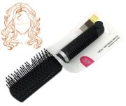 small compact hair brush travel