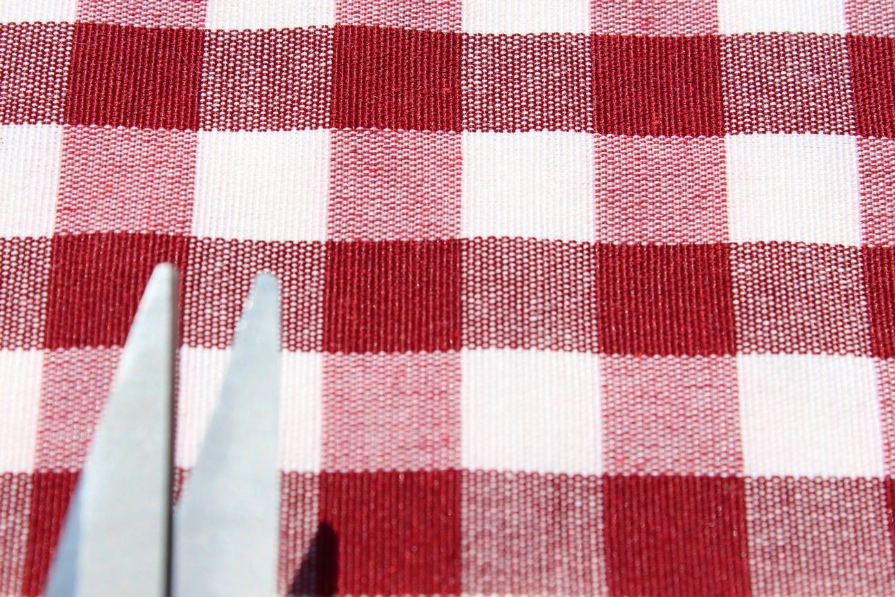 kitchen curtain fabric for sale aunt jemima curtains vintage shabby heavy cotton gingham upholstery
