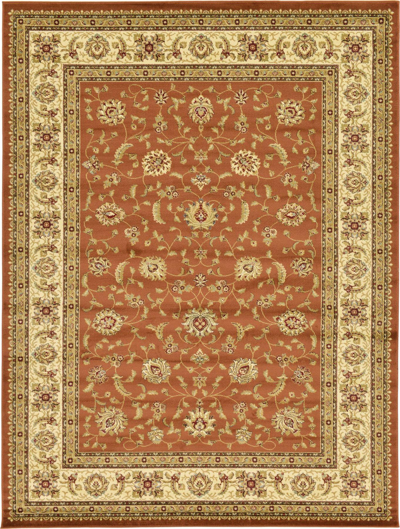 Traditional Rug Oriental Area Rug Persian Style Carpet New Classic Border Carpet  eBay