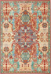 Persian Style Rugs Traditional Area Rug Carpet Oriental ...