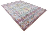 Persian Style Rug Traditional Rug Oriental Area Rug Light ...