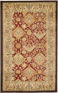 Traditional Rug Persian Oriental Area Rug-Carpet Classic ...